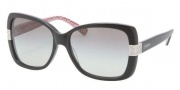 Coach HC8004 Sunglasses Harper Sunglasses - 503411 Black / Grey Gradient