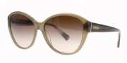 Coach HC8007 Sunglasses Abigail Sunglasses - 504213 Olive / Brown Gradient