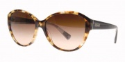 Coach HC8007 Sunglasses Abigail Sunglasses - 504513 Spotty Tortoise / Brown Gradient