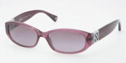 Coach HC8012 Sunglasses Hope Sunglasses - 50428H Purple / Violet Gradient