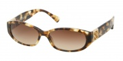 Coach HC8012 Sunglasses Hope Sunglasses - 504513 Spotty Tortoise / Brown Gradient