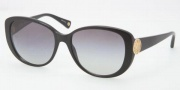 Coach HC8014 Sunglasses Sabrina  Sunglasses - 500211 Black / Gray Gradient