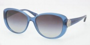 Coach HC8014 Sunglasses Sabrina  Sunglasses - 502811 Blue / Gray Gradient