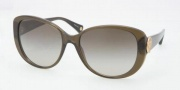 Coach HC8014 Sunglasses Sabrina  Sunglasses - 50308E Dark Olive / Green Gradient
