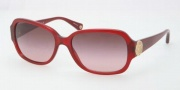 Coach HC8015 Sunglasses Allie Sunglasses - 50298H Burgundy / Burgundy Gradient