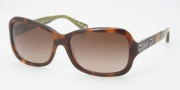 Coach HC8016 Sunglasses Ciara Sunglasses - 503113 Tortoise / Brown Gradient