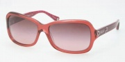 Coach HC8016 Sunglasses Ciara Sunglasses - 50328H Burgundy / Burgundy Gradient