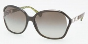 Coach HC8018 Sunglasses Natasha Sunglasses - 50368E Dark Olive / Green Gradietn