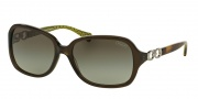 Coach HC8019 Sunglasses Beatrice Sunglasses - 50368E Dark Olive / Green Gradient