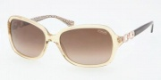 Coach HC8019 Sunglasses Beatrice Sunglasses - 503713 Sand / Brown Gradient