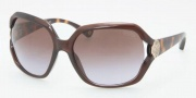 Coach HC8020 Sunglasses Marilyn  Sunglasses - 502768 Brown Dark Tortoise / Brown Purple Gradient