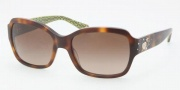 Coach HC8021B Sunglasses Ella Sunglasses - 503113 Tortoise / Brown Gradient