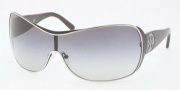 Tory Burch TY6017 Sunglasses Sunglasses - 381/11 Silver Stingray / Grey Gradient 