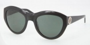 Tory Burch TY7037 Sunglasses Sunglasses - 501/71 Black / Green Solid