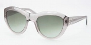 Tory Burch TY7037 Sunglasses Sunglasses - 708/8E Transparent Grey / Green Gradient