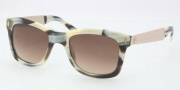 Tory Burch TY7042 Sunglasses Sunglasses - 104937 Light Olive / Blue Green Polarized