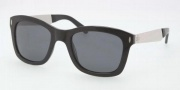 Tory Burch TY7042 Sunglasses Sunglasses - 501/87 Black / Solid Grey