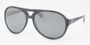 Tory Burch TY9011 Sunglasses Sunglasses - 10606G Dark Gray / Silver Mirror