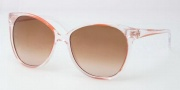 Tory Burch TY9012 Sunglasses Sunglasses - 105413 Clear Orange / Brown Gradient