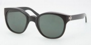 Tory Burch TY9015 Sunglasses Sunglasses - 501/71 Black / Green Solid