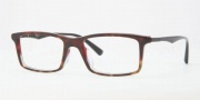 Ray Ban RX5269F Eyeglasses Eyeglasses - 5094 Havana on Red / Crystal