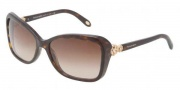 Tiffany & Co. TF4052B Sunglasses Sunglasses - 80153B Dark Havana / Brown Gradient