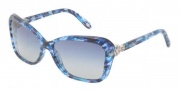 Tiffany & Co. TF4052B Sunglasses Sunglasses - 81304L Blue Havana / Blue Gradient Gray