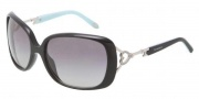 Tiffany & Co. TF4055B Sunglasses Sunglasses - 80014L Black Blue / Gradient Gray