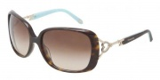 Tiffany & Co. TF4055B Sunglasses Sunglasses - 80153B Dark Havana / Brown Gradient