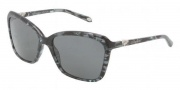 Tiffany & Co. TF4057B Sunglasses Sunglasses - 81293F Gray Havana / Gray