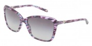 Tiffany & Co. TF4057B Sunglasses Sunglasses - 81323C Plum Havana / Gray Gradient 