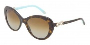 Tiffany & Co. TF4059 Sunglasses Sunglasses - 8015T5 Dark Havana / Polarized Brown Gradient