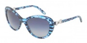 Tiffany & Co. TF4059 Sunglasses Sunglasses - 81304L Blue Havana / Blue Gradient Gray