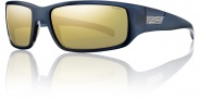 Smith Prospect Sunglasses Sunglasses - Blue Blazer / Polarized Gold Mirror