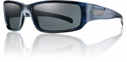 Smith Prospect Sunglasses Sunglasses - Blue Stripe / Polarized Gray