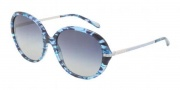 Tiffany & Co. TF4060B Sunglasses Sunglasses - 81304L Blue Havana / Blue Gradient Gray