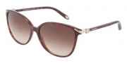 Tiffany & Co. TF4061G Sunglasses Sunglasses - 80023B Havana / Brown Gradient