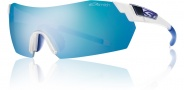 Smith Optics Pivlock V2 Sunglasses Sunglasses - Matte Clear / Blue Mirror
