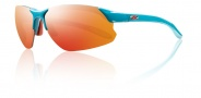 Smith Optics Parallel D Max Sunglasses Sunglasses - Teal Orange / Red Mirror