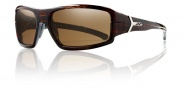 Smith Optics Interlock Spoiler Sunglasses Sunglasses - Square Tortoise / Polarized Brown