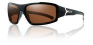 Smith Optics Interlock Spoiler Sunglasses Sunglasses - Black Fishing / Polarized Copper