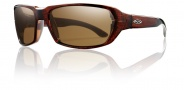 Smith Optics Interlock Trace Sunglasses Sunglasses - Wood Tortoise Fishing / Polarized Brown