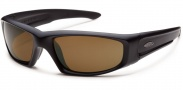 Smith Optics Hudson Tactical Sunglasses Sunglasses - Black / Polarized Brown