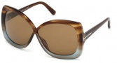 Tom Ford FT0227 Calgary Sunglasses Sunglasses - 83Z Violet / Gradient Mirror Violet