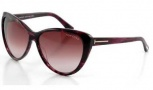 Tom Ford FT0230 Malin Sunglasses Sunglasses - 83T Violet / Gradient Bordeaux
