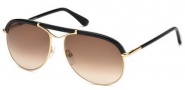 Tom Ford FT0235 Marco Sunglasses Sunglasses - 28F Shiny Rose Gold / Gradient Brown