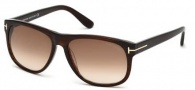 Tom Ford FT0237 Snowdon Sunglasses Sunglasses - 05J Black / Roviex