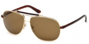 Tom Ford FT0243 Adrian Sunglasses Sunglasses - 28J Shiny Rose Gold / Roviex