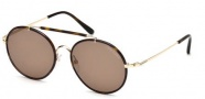 Tom Ford FT0246 Samuele Sunglasses Sunglasses - 28J Shiny Rose Gold / Roviex