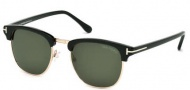 Tom Ford FT0248 Henry Sunglasses Sunglasses - 05N Black / Green
